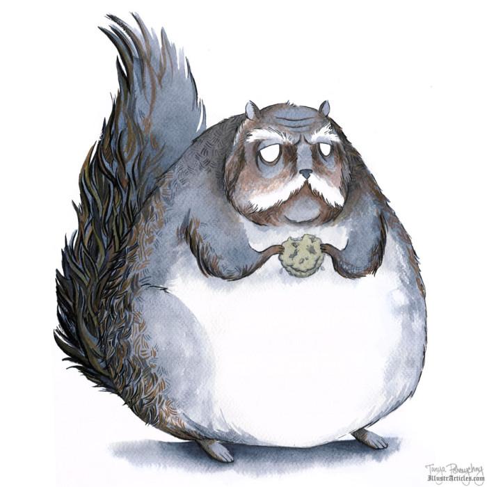 One Squirrel's Fight Against Diabeetus